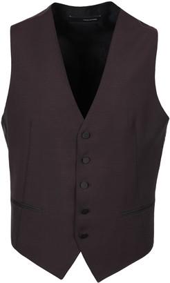 Tagliatore Virgin Wool Single-breast Waistcoat