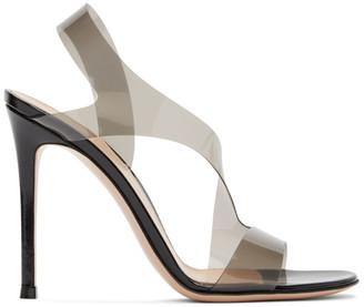 Gianvito Rossi Black Metropolis 105 Heeled Sandals