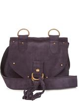 See by Chloe Collins mini suede cross-body bag
