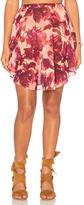 For Love & Lemons Wild Rose Skirt