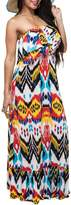 T-Bags LosAngeles Tbags Los Angeles Maxi Ruffle Dress