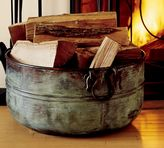 Pottery Barn Paxton Firewood Bucket