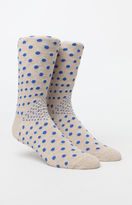 Richer Poorer Fellow Dotted Crew Socks