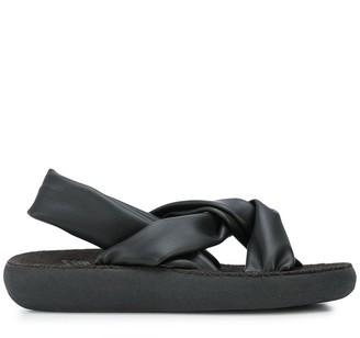 Ancient Greek Sandals Meleti flat sandals