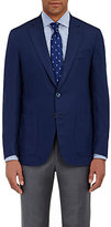 Isaia Men's Lightweight Two-Button Sportcoat-NAVY