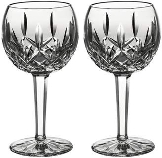 Waterford Wedgwood Classic Lismore Balloon Wine Set of 2