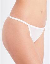 Calvin Klein Sheer Marquisette semi-sheer thong