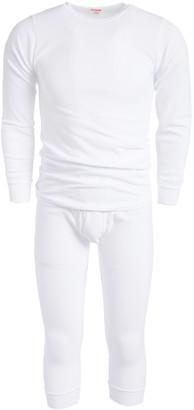 Rocky Men's Thermal Bottoms WHITE - White Waffle Thermal Underwear Set - Men