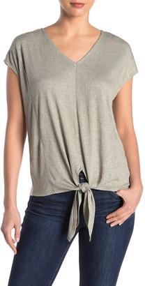 Como Vintage Sleeveless Textured Knit Gauze Top