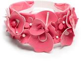 Miu Miu Embellished floral headband