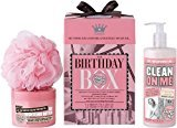 Soap & Glory Soap And Glory Birthday Box Gift Set Inc. Clean On Me And Righteous Body Butter (Pack Qty 2) by Unknown