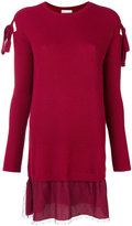 RED Valentino knitted dress - women - Polyamide/Polyester/Spandex/Elastane/Virgin Wool - XS