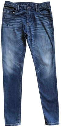 6397 Blue Cotton - elasthane Jeans for Women
