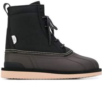 Suicoke ALAL-WPAB lace-up leather boots