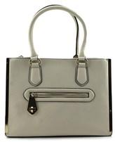 Aldo Newhook-71 Women Leather Ivory Satchel.