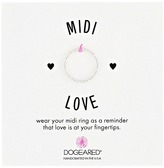 Dogeared Midi Love Sparkle Ring