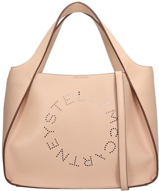 Stella McCartney Shoulder Bag In Rose-pink Faux Leather