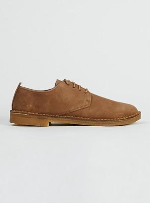 Topman CLARKS ORIGINALS Tan Suede Desert Shoes