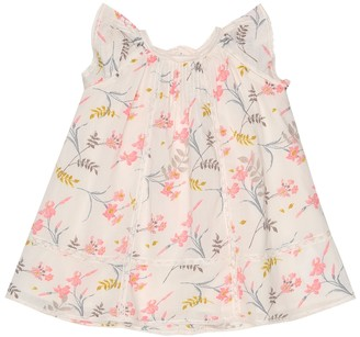 Bonpoint Baby floral cotton-voile dress