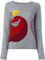 Chinti and Parker 'Maxi Apple' jumper