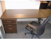 Desk in Wenge / Silver