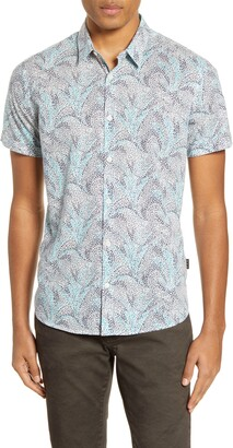 John Varvatos Jasper Short Sleeve Button-Up Shirt