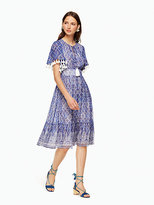 Kate Spade Trellis nat dress
