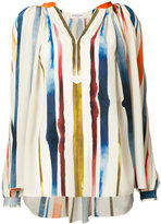 Sonia Rykiel striped top - women - Silk - 34