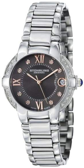 Stuhrling Original Countess Elite 338L.121154 Stainless Steel & Diamond 33mm Watch
