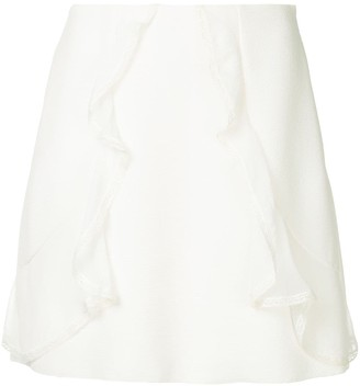 See by Chloe Ruffle Detail Skirt