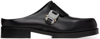 Alyx Black Formal Clog Loafers