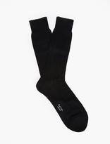 Paul Smith Black Cotton Socks