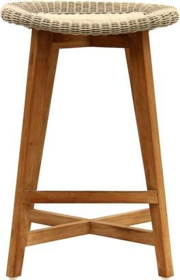 Satara Skal Backless Barstool 65cm