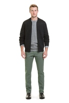 Country Road Woolmark Zip Through Bomber