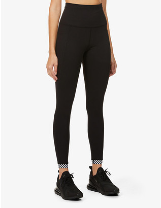 Lorna Jane Checked Out stretch-jersey leggings