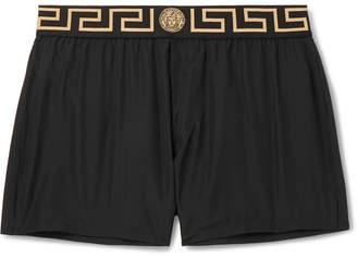 Versace Slim-Fit Short-Length Swim Shorts