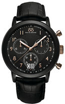 88 Rue du Rhone Men's Chronograph Watch with Leather Strap