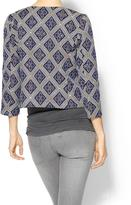 BCBGMAXAZRIA Rhyme Los Angeles Dubois Tapestry Jacket