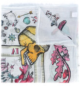 Faliero Sarti floral print scarf - women - Cotton - One Size