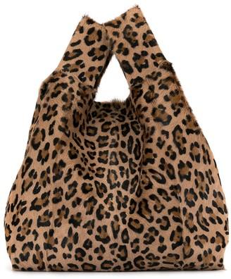 Simonetta Ravizza Leopard tote bag