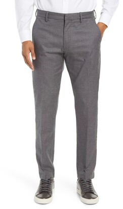 Nordstrom Non-Iron Athletic Fit Textured Pants