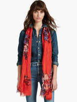 Lucky Brand Midnight Floral Scarf