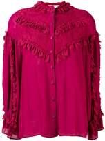 Koché ruffle detail blouse
