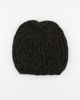 Le Château Two-Tone Knit Hat