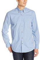 Cutter & Buck Men's Long Sleeve Richard Check Woven Shirt