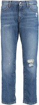 Iris and Ink Distresesd boyfriend jeans