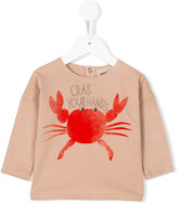 Bobo Choses crab sweatshirt