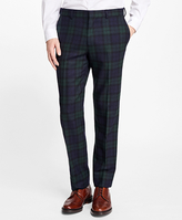 Brooks Brothers Black Watch Tartan Dress Trousers