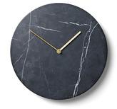 Menu Marble Wall Clock Black