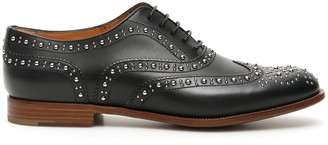 Church's BURWOOD 7 MET BROGUE SHOES 39 Black Leather